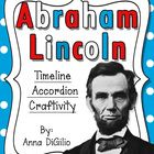 Celebrate Abraham Lincoln by creating a Timeline Accordion Book of the important events in his life.  And...What better way to display your student...
