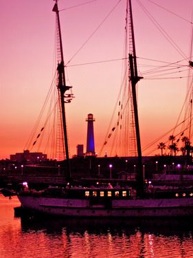 "Saatchi Online Artist TOULA MAVRIDOU-MESSER; Photography, ""Americana - Long Beach Harbour"" #art"