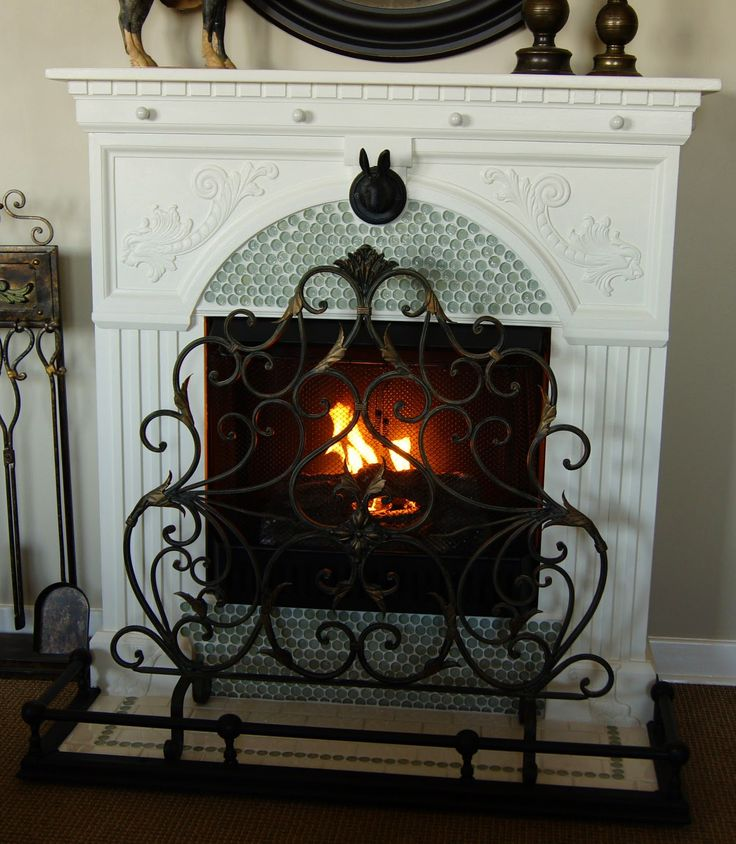 French Country Fireplace | So You Think You're CraftySo You Think You're Crafty