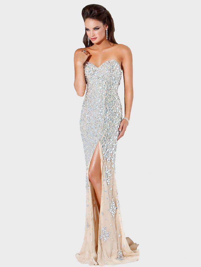 21 best Vestidos images on Pinterest | Evening gowns, Formal dresses ...