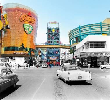 Fremont Street: Then and now