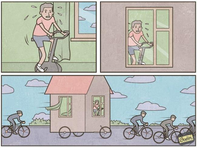 Clever Illustrations:俄羅斯插畫家幽默地反諷社會中的各種現象 17