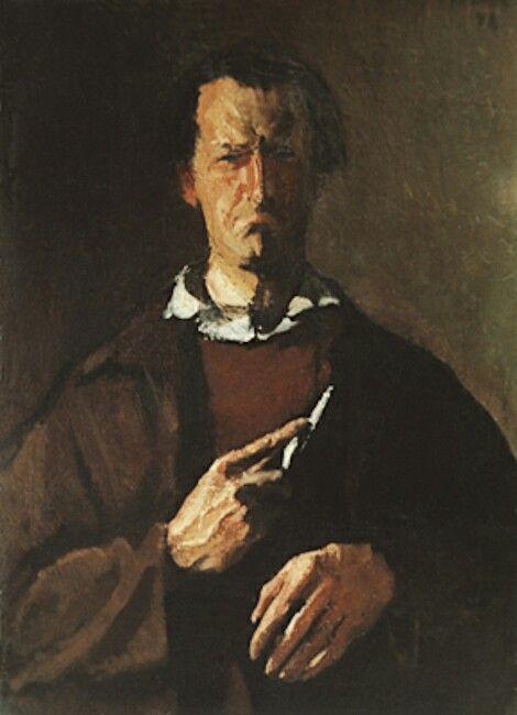 Corneliu Baba - Self portrait.