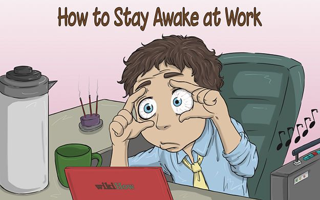 Stay Awake at Work Sen, Bieganie i Badanie - how to stay awake at work