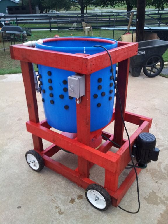 """how to build this chicken plucking machine with pictures and instructions!  The wizbang chicken plucker plans call for a 3/4 HP Farm Duty motor, & 2 """"pillow block""""bearings."""