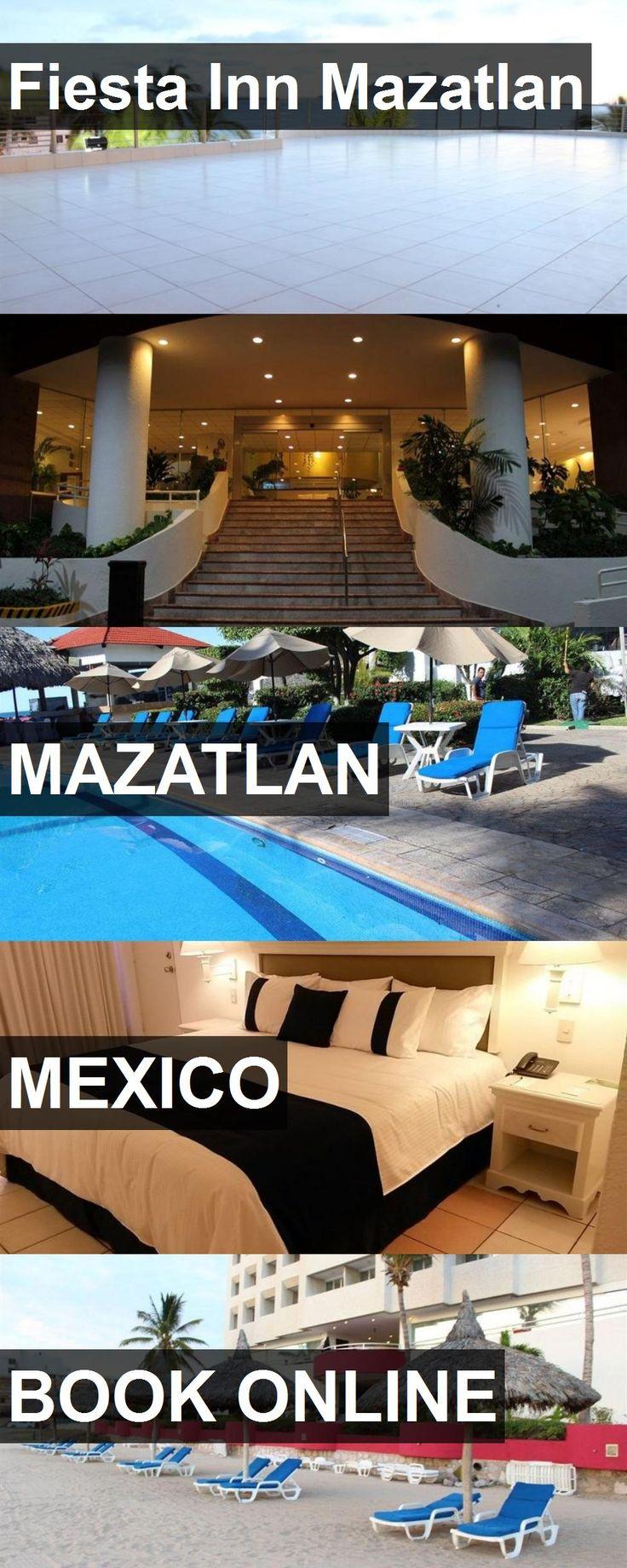 Hotel Fiesta Inn Mazatlan in Mazatlan, Mexico. For more information, photos, reviews and best prices please follow the link. #Mexico #Mazatlan #travel #vacation #hotel