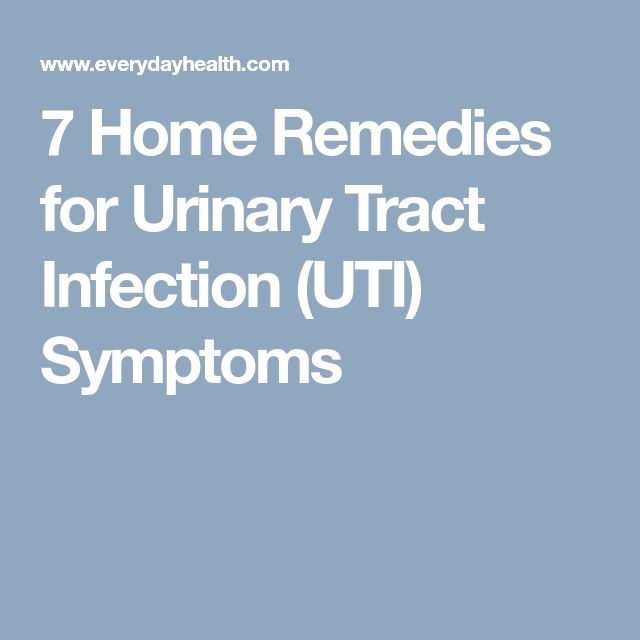 7 Home Remedies for Urinary Tract Infection (UTI) Symptoms