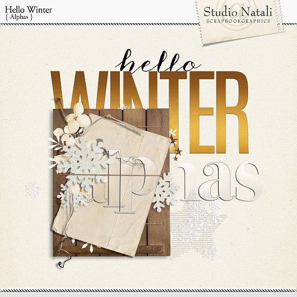Hello Winter Alphas