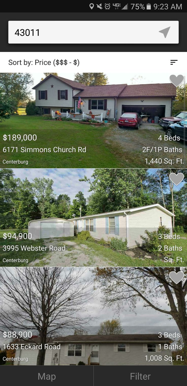 Easily view all of centerburg ohios real estate listings