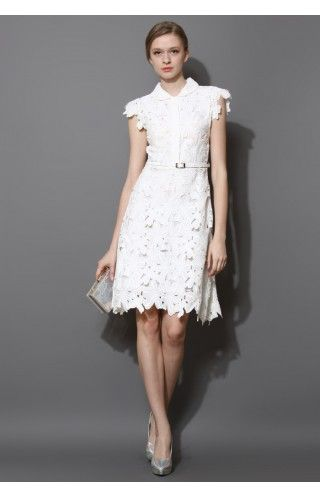 Full Flower Cut Out Midi Dress - Buyer's Pick - Retro, Indie and Unique Fashion