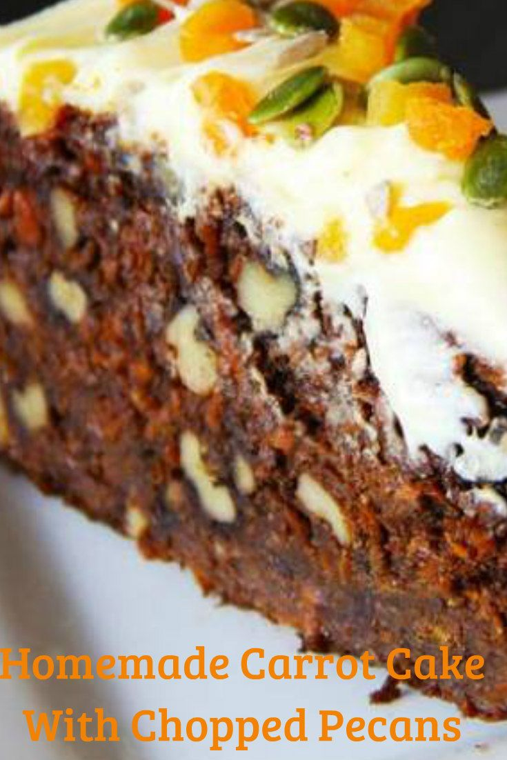 The best Carrot Cake recipe you will ever taste. Moist and flavorful. The homemade cream cheese frosting tops it off.