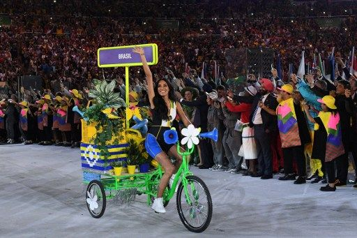 rio olympic games 2016 bikes opening ceremonies - Google Search