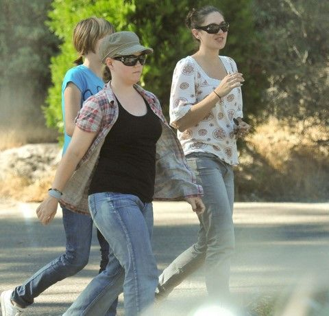 Click on the picture. Jaycee Dugard at Sly Park in northern California, with recovered friend Jessica, and her youngest daughter. Jaycee wears a hat and sunglasses.  https://www.youtube.com/watch?v=O5sB7ySBNmQ