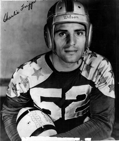 Pro football Hall of Famer Charley Trippi is a legend among Georgia Bulldogs fans and was no slouch as a member of the old Atlanta Crackers baseball team, either. Description from uga.tumblr.com. I searched for this on bing.com/images