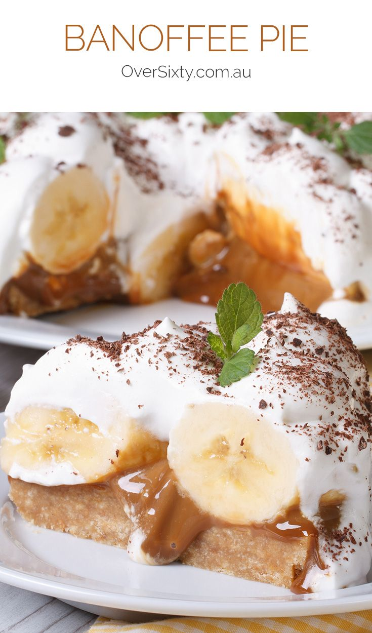 Banoffee Pie - This decadent, caramel pie might be the easiest dessert you'll ever make, but it's also the most delicious.