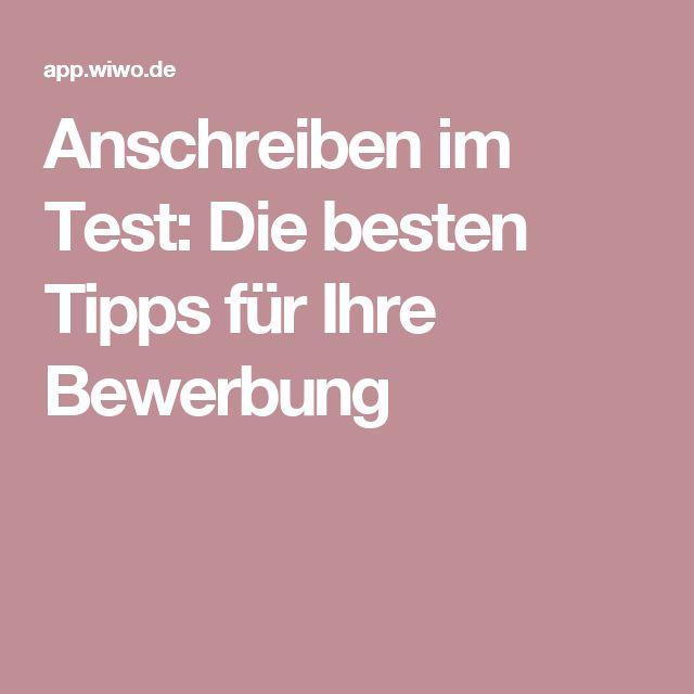 Anschreiben im Test: Die besten Tipps für Ihre Bewerbung
