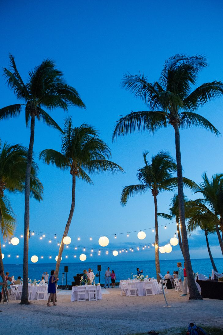 Paper-Lantern-Lit Key West, Florida, Reception | Simply You Weddings | Transier Photography https://www.theknot.com/marketplace/transier-photography-port-orange-fl-392703