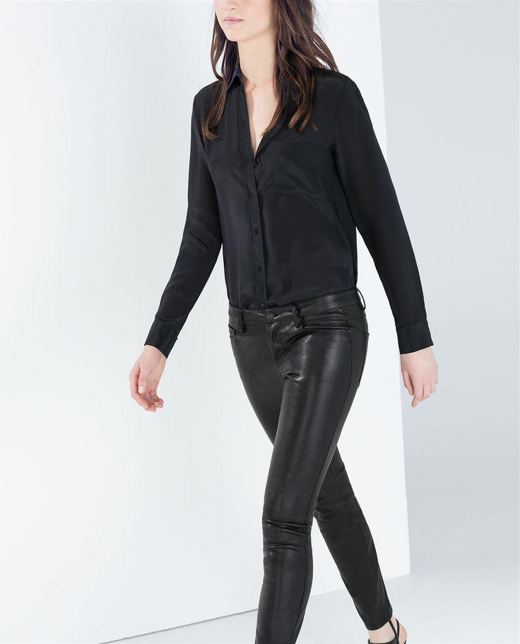 Wonderful Pants Feet Leather Pants Design Women Dress Pantalon Femmein Pants