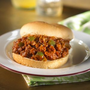MorningStar Farms® Meal Starters™ Grillers® Recipe Crumbles™ turn this family-pleasing sandwich into a meatless entrée.