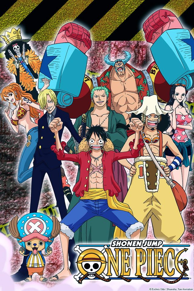 The Straw Hat Crew, Punk Hazard One Piece Pinterest