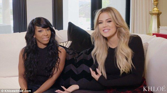 BFFs: The duo often appear together on the various Kardashian reality shows