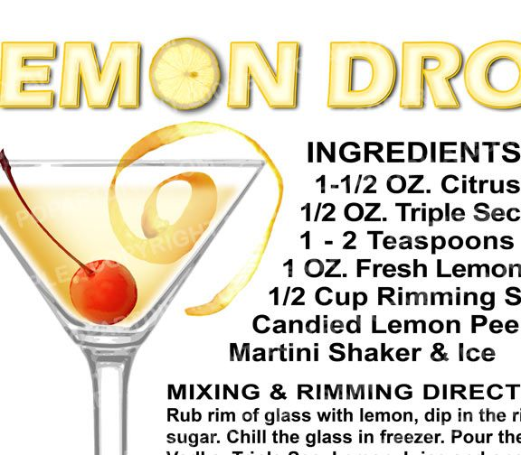 how to make the best lemon drop martini