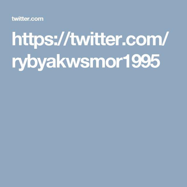 https://twitter.com/rybyakwsmor1995 tropikalne ryby akwariowe