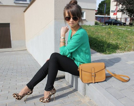 Love the outfit <3: Leopard Shoes, Cheetah, Fashion, Leopard Print, Style, Emerald, Outfit, Leopards