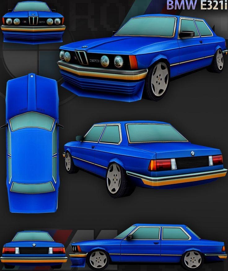 ArtStation - BMW_E321I, Alexey Borovsky
