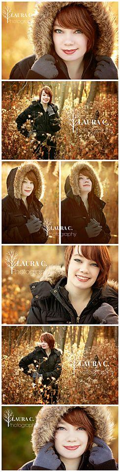 Ashley Collins   Winter senior picture ideas for girls   Winter senior pictures   Winter senior photography   Laura C. Photography 2014   Senior Photographer in Gretna, NE