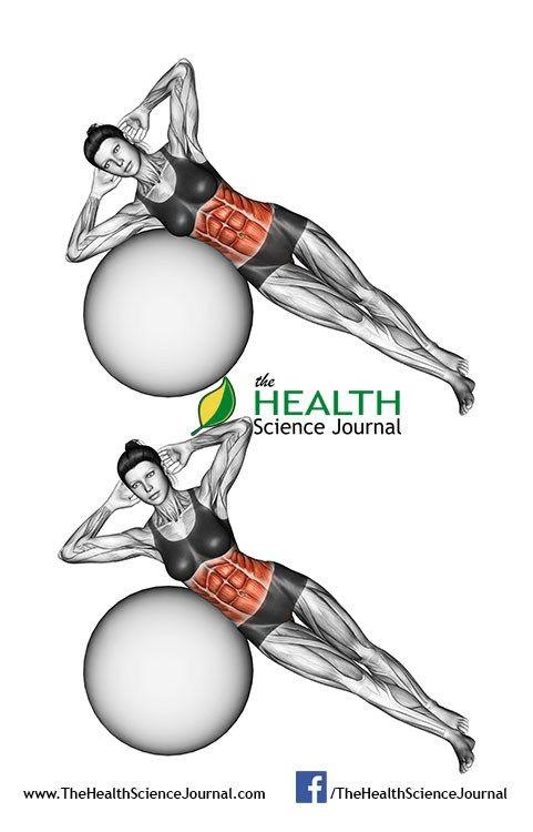© Sasham | Dreamstime.com - Fitball exercising. Bending the body on fitball. Female
