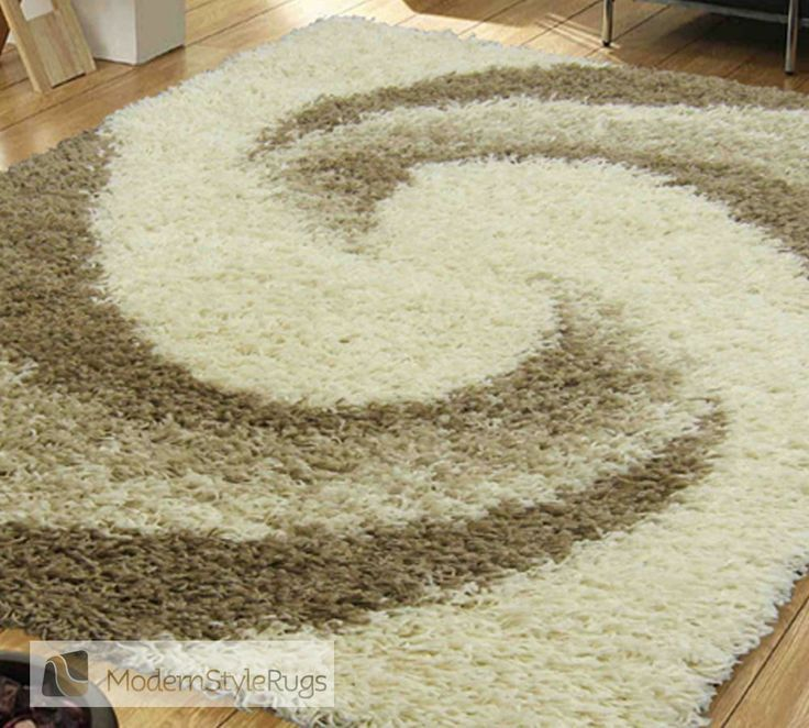 Mont Blanc Mb12 Ivory/Beige - Modern Style Rugs