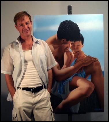Steve Walker, artist.