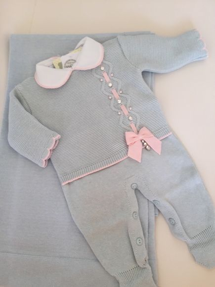 Conjunto Saída de Maternidade feminina com 3 peças (macacão 0a9ed0c47aa