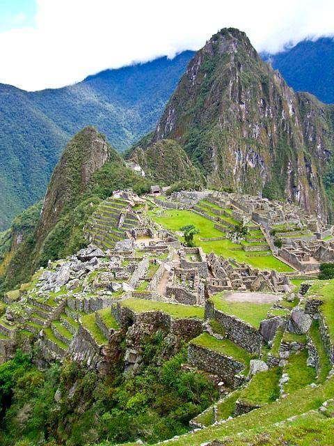 A must-see for any Bucket List - Machu Picchu, Peru!