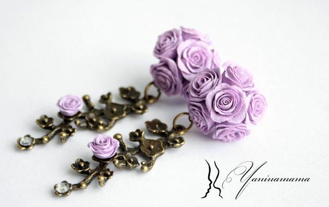 #polymerclay flowers