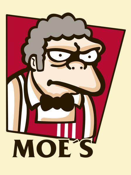 Parody of Moe´s and KFC.