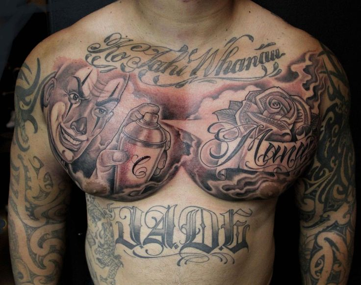 382 Best Chest Piece Tattoos Images On Pinterest