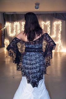 Gala Shawl by Cheri McEwen free 800 yds lace