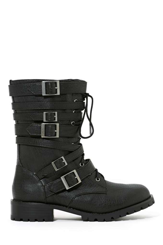 Shoe Cult Intent Combat Boot
