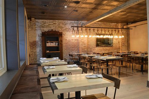 Inside Cinco y Diez, Hugh Acheson's New GA Restaurant: Interior Everything, Inside Cinco, Restaurant Ideas, Ga Restaurant, Bar