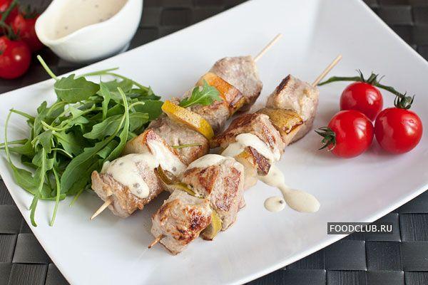 Шашлычки изсвиной вырезки сгрушами http://amp.gs/TFKU  #foodclub #рецепт #вкусно #обед #ужин