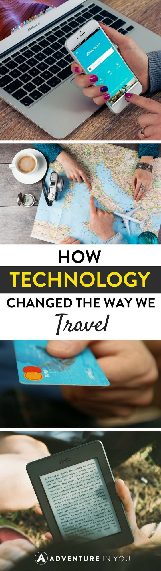 Technology Travel | Wondering how travel will be like without your favorite apps? Ebooks? How about your favorite flight search engine? Here are a few ways technology has changed the way we travel.