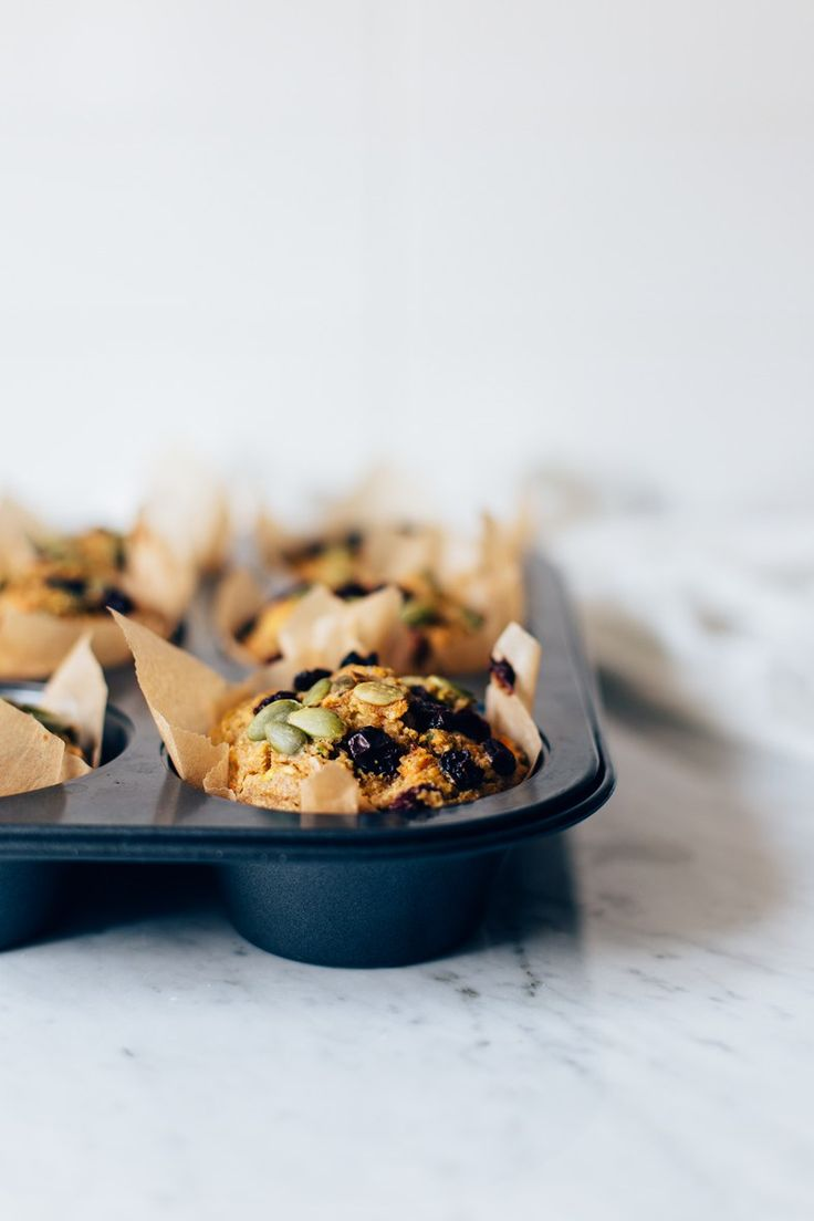 Healthy Breakfast Muffins (GF + vegan option) | tuulia blog