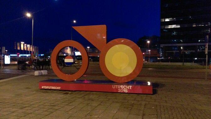 Tour de France logo 2015 Utrecht