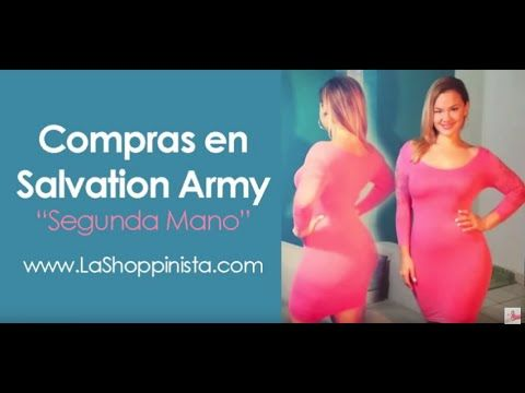 De Compras - Outfits y Ropa Usada (de Segunda mano) en Salvation Army - La Shoppinista - YouTube