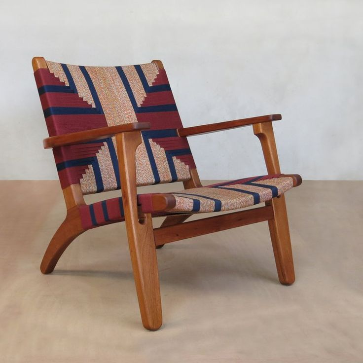 Here is an heirloom quality solid hardwood arm chair in the classic Danish modern style. This hardwood arm chair is a Scandinavian classic of mid-century modern design. The tropical hardwoods are all sustainably sourced and the leather is cut, dyed and hand wrapped. This woven lounge chair is hand made from beautiful, sustainably harvested tropical hardwood and features a hand woven seating surface. The living room chairs are inspired by Danish modern design and like all of the beautiful…