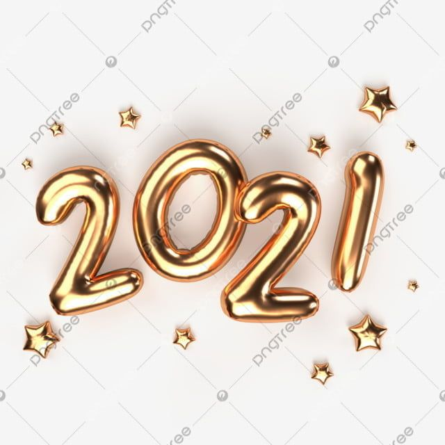 Happy New Year 2021 Golden Metal Numbers Realistic 3d Render Of Signs Decorative Happiness New Year S Eve Png Transparent Clipart Image And Psd File For Free In 2020 Happy New Year