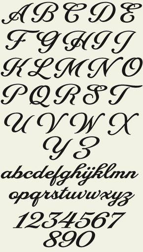 alphabet fonts to print for free | Letterhead Fonts / LHF Packard Script / Script Fonts