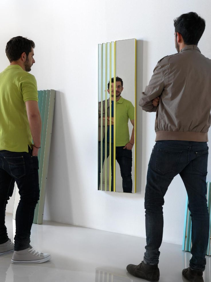 LinMorris » Blog Archive » Zig Zag mirrors by Mut Design Studio